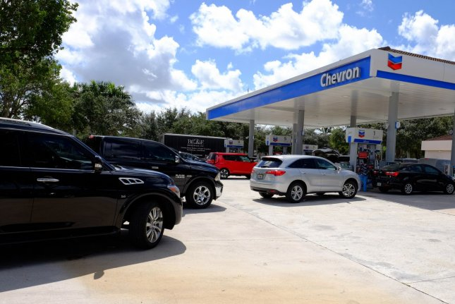 Gasoline prices are following the traditional price path of hitting a low in early February and starting to increase, often peaking right before Memorial Day. File Photo by Gary I Rothstein/UPI