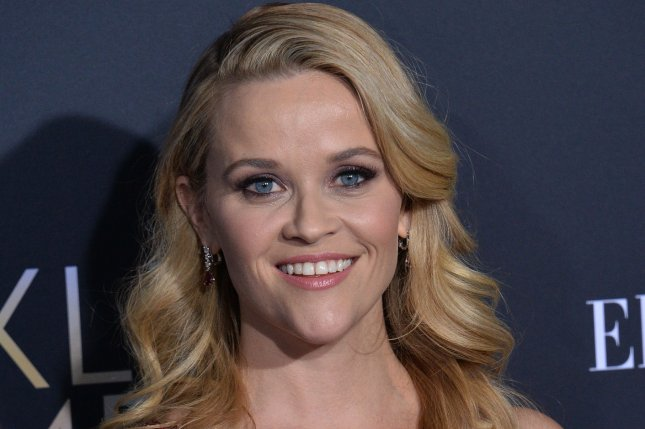 Reese Witherspoon will star in and executive produce Pyros, a sci-fi movie based on the Thomas Pierce short story Tardy Man. File Photo by Jim Ruymen/UPI