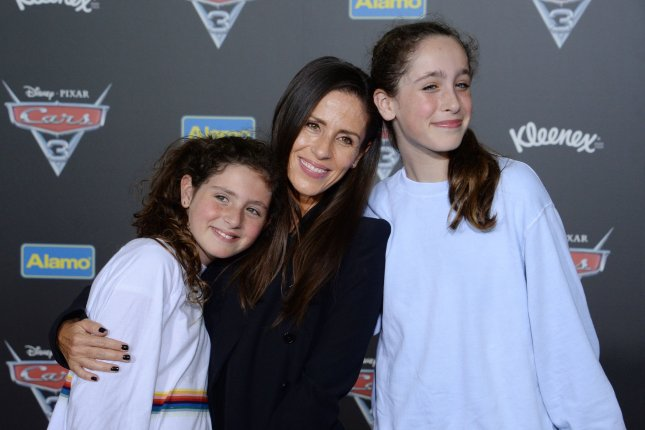 Soleil Moon Frye (C) says her daughters give to charity over the holidays. File Photo by Jim Ruymen/UPI