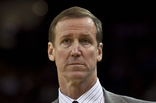 Portland head coach Terry Stotts and the Trail Blazers are scheduled to begin their preseason slate at home Friday against the Sacramento Kings. File Photo by Terry Schmitt/UPI