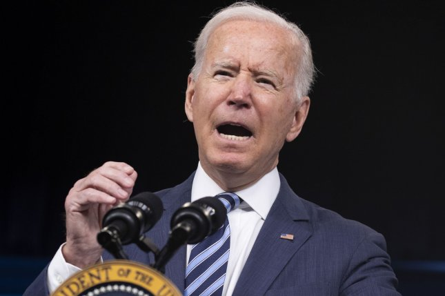 U.S. President Joe Biden is a firm internationalist and will not abandon ship over NATO and America's Pacific allies, despite the bleak outlook from Britain. Photo by Michael Reynolds/UPI