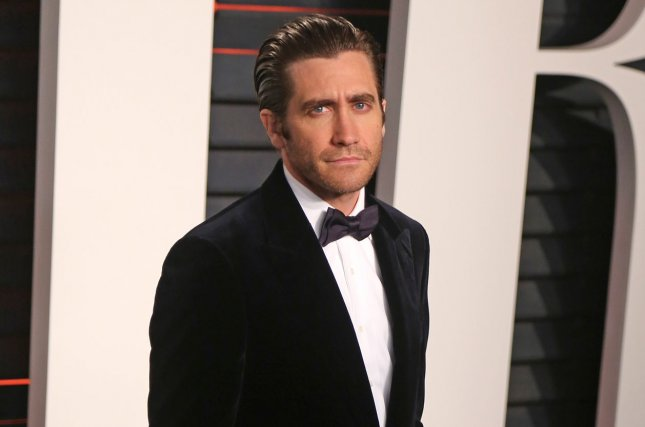 Jake Gyllenhaal attends the 2016 Vanity Fair Oscar Party in Beverly Hills on February 28, 2016. File photo by David Silpa/UPI