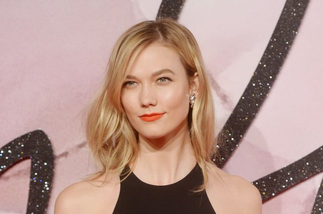 Karlie Kloss at the Fashion Awards in London on December 5, 2016. File Photo by Rune Hellestad/UPI