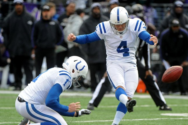 Indianapolis Colts Kicker Adam Vinateri No Retirement In Sight Upi Com
