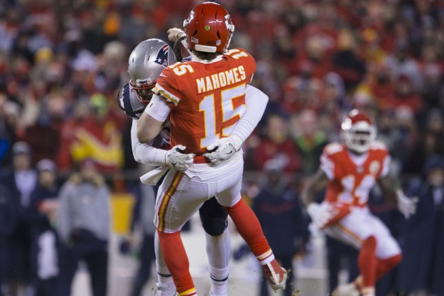 Kansas City Chiefs quarterback Patrick Mahomes was seen showing off his  basketball skills in a video posted Tuesday on social media. 2c0948584
