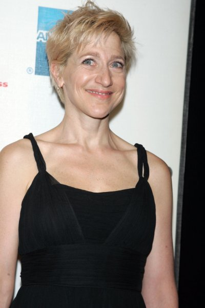 Edie Falco arrives for the Tribeca FIlm Festival premiere of Serious Moonlight at the Tribeca Performing Arts Center/BMCC in New York on April 25, 2009. (UPI Photo/Laura Cavanaugh)