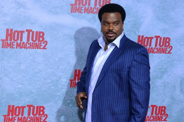 Actor Craig Robinson attends the premiere of the sci-fi motion picture comedy Hot Tub Time Machine 2 in 2015. Photo by Jim Ruymen/UPI