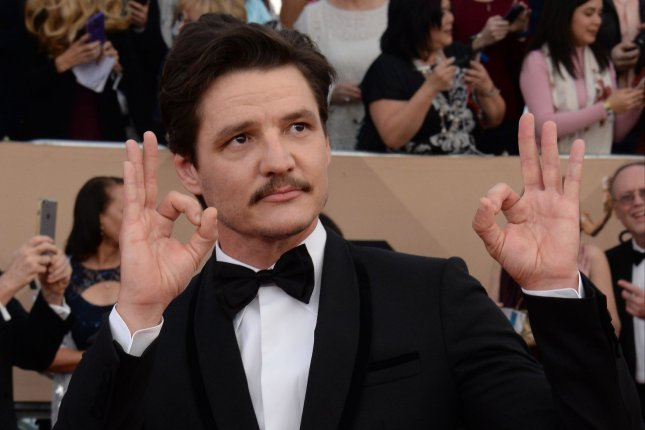 Narcos star Pedro Pascal attends the 22nd annual Screen Actors Guild Awards on January 30, 2016. Netflix has released the first trailer for the show's upcoming second season that also features actor's Wagner Moura and Boyd Holbrook. File Photo by Jim Ruymen/UPI
