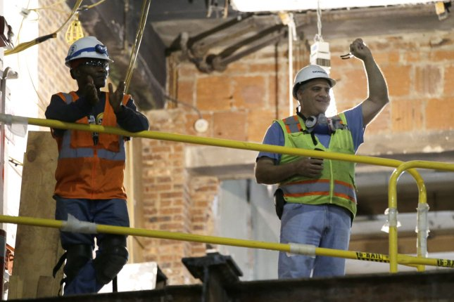 Construction jobs were among those that saw gains in December, according to the latest Labor Department report. File Photo by John Angelillo/UPI