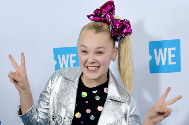 JoJo Siwa has announced a North American tour that begins in May. File Photo by Jim Ruymen/UPI