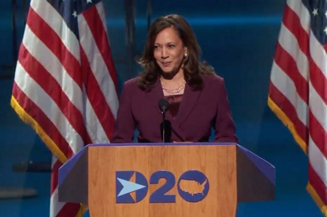 Democratic vice presidential candidate Kamala Harris declared that she would not take President Donald Trump at his word regarding the safety of a COVID-19 vaccine in the weeks leading up to the 2020 election. Photo byUPI