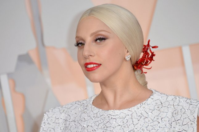 Lady Gaga arrives on the red carpet at the 87th Academy Awards at the Hollywood & Highland Center in Los Angeles on Feb. 22, 2015. File Photo by Kevin Dietsch/UPI