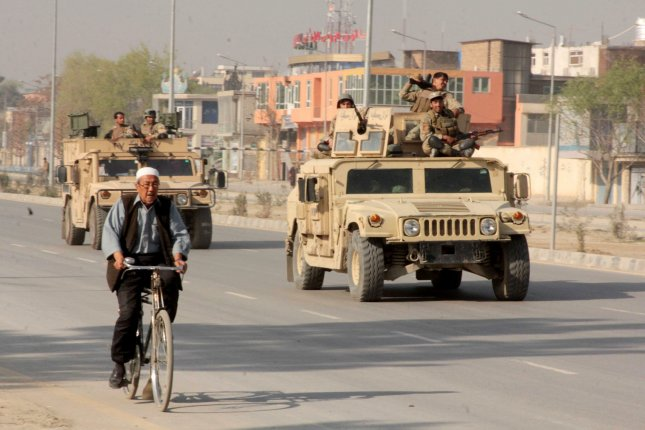 At least six people were killed in two blasts in Kabul, Afghanistan, on Nov. 24, 2015, while ongoing clashes between the Taliban and Afghan security forces erupted the day prior in Kunduz province, to the north. UPI