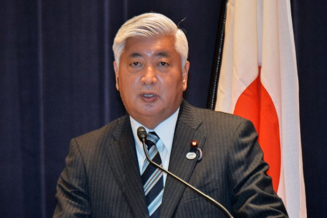 Japanese Defense minister Gen Nakatani told reporters Wednesday that North Korea's Musudan missile is sufficiently capable of targeting Japan. File Photo by Keizo Mori/UPI