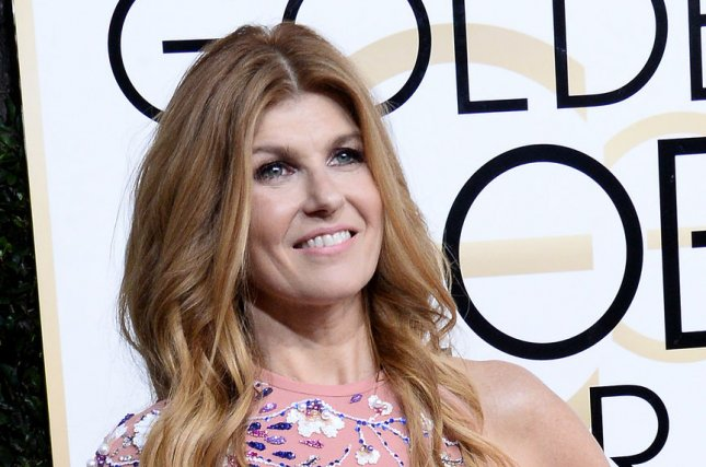 Connie Britton attends the Golden Globe Awards on January 8. File Photo by Jim Ruymen/UPI