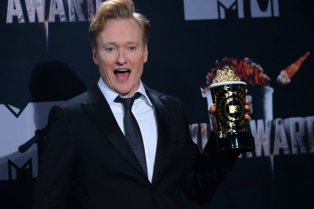 Comedian Conan O'Brien has teamed up with HBO Max on five new stand-up specials. File Photo by Jim Ruymen/UPI