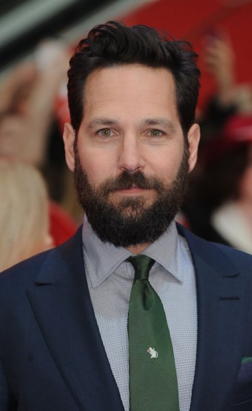 Wet Hot American Summer actor Paul Rudd attends the premiere of Captain America: Civil War in London on April 26, 2016. Photo by Paul Treadway/UPI