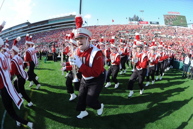 The Wisconsin Badgers travel to East Lansing to face the Michigan State Spartans on Saturday. File photo by Jon SooHoo/UPI