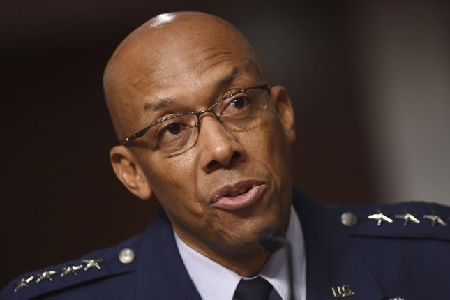 General Charles Q. Brown, Jr., pictured testifying on his nomination to be Chief of Staff, United States Air Force before the Senate Armed Services committee last May, said the new Air Force mission statement reflects the branch's sole focus on airpower and core air domain missions. File Photo by Kevin Dietsch/UPI