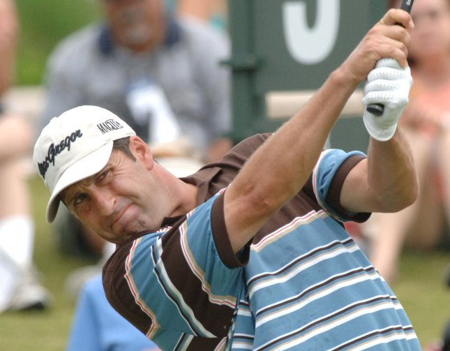 Spain's Jose Maria Olazabal, shown in a 2007 file photo, has been selected the captain for the European team for the 2012 Ryder Cup. (UPI Photo/Pat Benic)