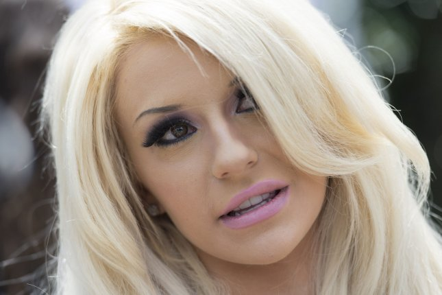 Courtney Stodden at PETA's Annual Congressional Veggie Dog Giveaway on July 16, 2014. The reality star suffered a miscarriage last week. File Photo by Kevin Dietsch/UPI