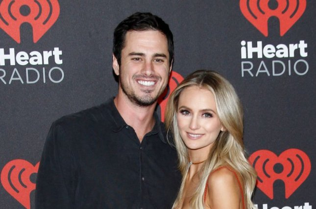 1e02dd16136 Ben Higgins (L) and Lauren Bushnell at the iHeartRadio Music Festival on  September 23. File Photo by James Atoa UPI