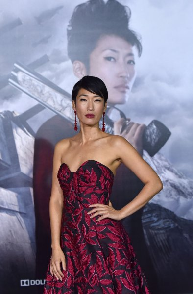 Jihae attends the premiere of Mortal Engines in Los Angeles on December 5. The film opens nationwide Friday. Photo by Chris Chew/UPI
