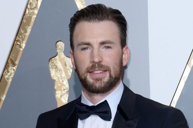Chris Evans may star in director Antoine Fuqua's Infinite, based on the book The Reincarnationist Papers. File Photo by Jim Ruymen/UPI