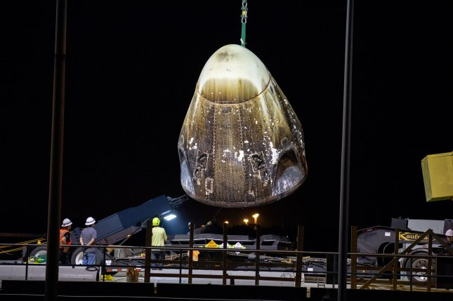 SpaceX Crew Dragon capsule suffers an anomaly during its Florida engine test