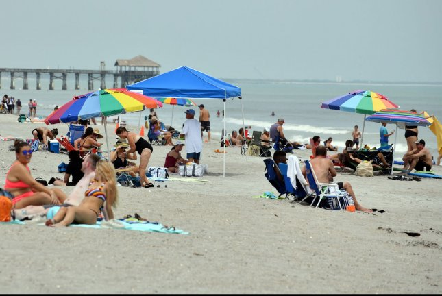 President Donald Trump signed an executive order Tuesday extending a moratorium on offshore drilling off the coast of Florida through 2032 and expanding it to the Atlantic coast. FilePhoto by Joe Marino/UPI