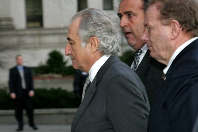 Bernard Madoff arrives at Federal Court for his guilty plea on March 12, 2009 in New York. (UPI Photo/Monika Graff)