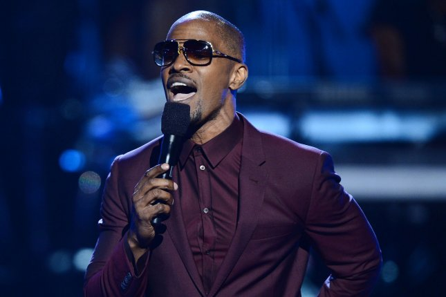 Singer and actor Jamie Foxx performs on stage during BET Awards 13, at the Nokia Theatre in Los Angeles on June 30, 2013. UPI/Jim Ruymen