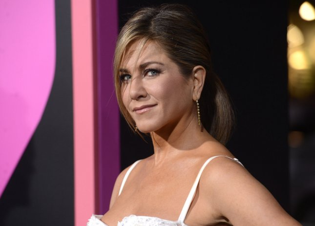 Cast member Jennifer Aniston attends the premiere of the film Horrible Bosses 2 held at the TCL Chinese Theatre in the Hollywood section of Los Angeles on November 20, 2014. UPI/Phil McCarten