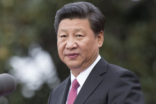 Since Chinese President Xi Jinping assumed office in 2012, China has grown a state-sanction cult of personality focused on his speeches and leadership. Pool photo by Chris Kleponis/UPI