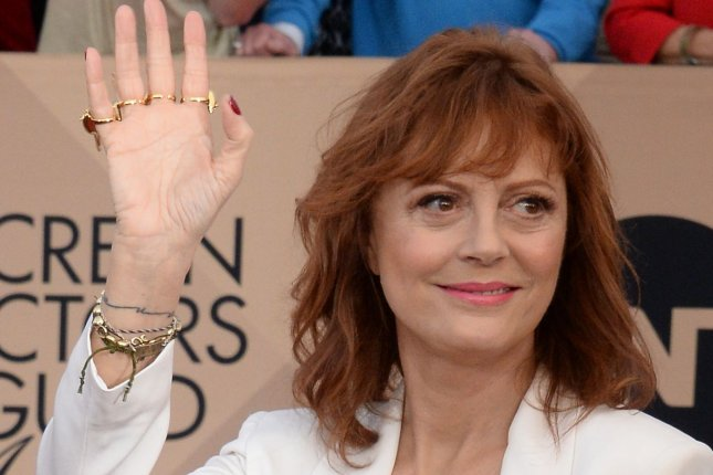Actress Susan Sarandon attends the 22nd annual Screen Actors Guild Awards on January 30, 2016. File Photo by Jim Ruymen/UPI