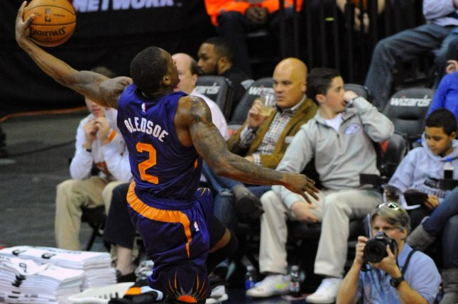 Phoenix Suns guard Eric Bledsoe (2). UPI/Mark Goldman