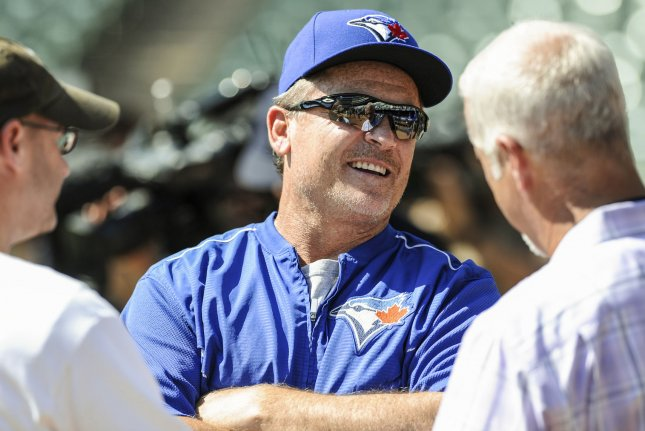 Toronto Blue Jays manager John Gibbons will not return for the 2019 season. File photo by Michael Prengler/UPI