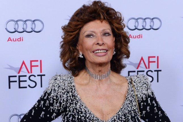 Sophia Loren stars in The Life Ahead, directed by her son, Edoardo Ponti.  Netflix has acquired the global rights to the film. File Photo by Jim Ruymen/UPI