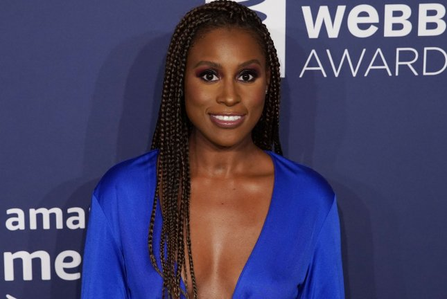 Issa Rae is working on a new comedy series for HBO Max. File Photo by John Angelillo/UPI