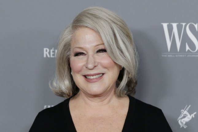 Bette Midler will be recognized at this year's Kennedy Center Honors ceremony in December. File Photo by John Angelillo/UPI