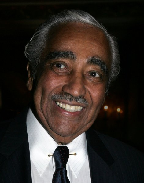 Rep. Charles Rangel, D-N.Y., is one of the few House members brought up on ethics charges. UPI /Laura Cavanaugh