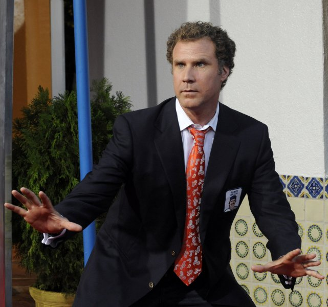 Will Ferrell, a cast member in the motion picture comedy Step Brothers, attends the premiere of the film in Los Angeles on July 15, 2008. (UPI Photo/Jim Ruymen)