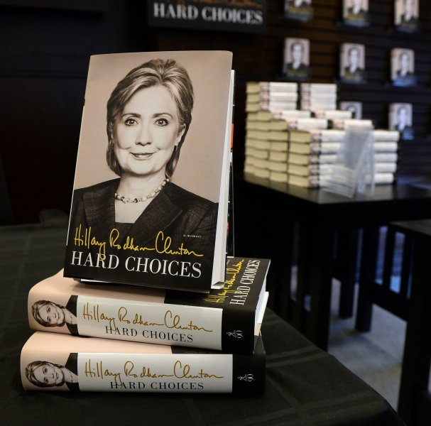 Former U.S. Secretary of State Hillary Clinton's book Hard Choices allegedly claims, according to some media reports, that the United States was involved in the creation of ISIS.