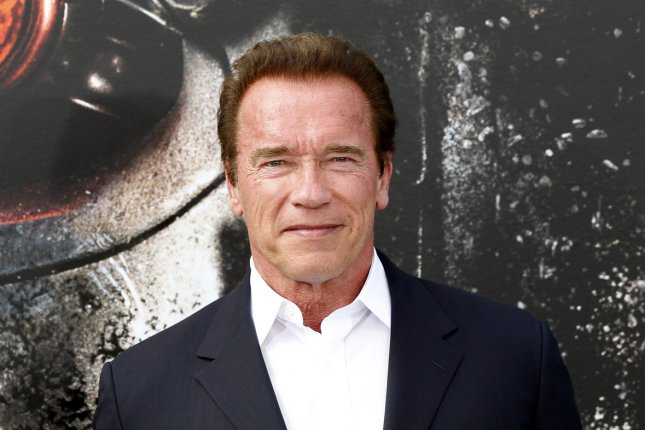 Arnold Schwarzenegger at the Los Angeles premiere of 'Terminator Genisys' on June 28. The actor will replace Donald Trump as the host of 'The Celebrity Apprentice.' File photo by Alex Gallardo/UPI