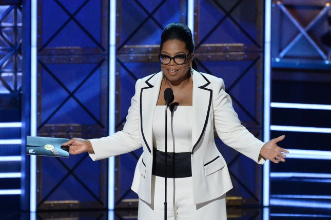 Oprah Winfrey is set to receive the 2018 Cecil B. DeMille Award at the upcoming Golden Globes Awards. File Photo by Jim Ruymen/UPI