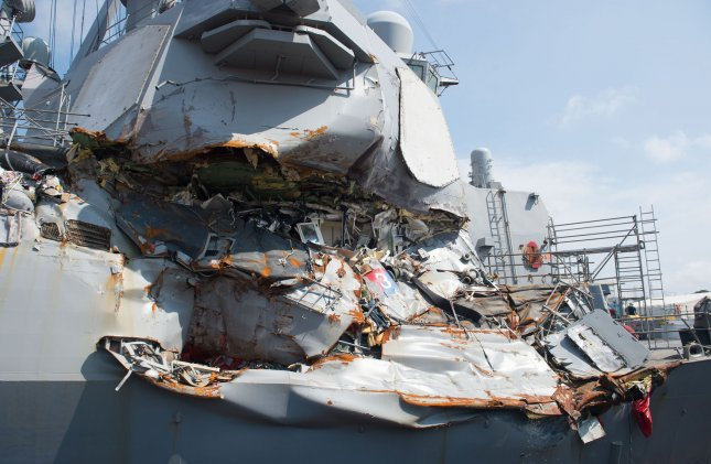 US Navy commanders face negligent homicide charges in fatal ship collisions