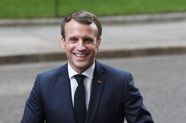 French President Emmanuel Macron told The Economist NATO is suffering from brain death. Photo by Rune Hellestad/UPI