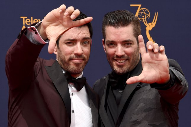 Drew Scott (L) and Jonathan Scott will star in new seasons of Property Brothers: Forever Home and Brother vs. Brother as part of an extended HGTV deal. File Photo by Gregg DeGuire/UPI
