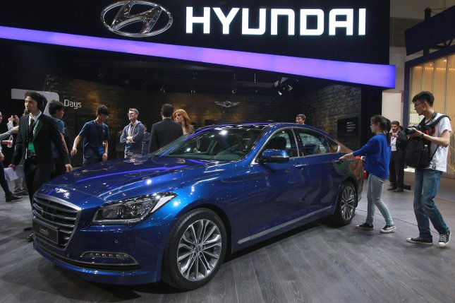 North Korean hackers are believed to be behind hoax intranet sites bearing the name of Hyundai Motor Group, the largest South Korean car manufacturer. Photo by Stephen Shaver/UPI