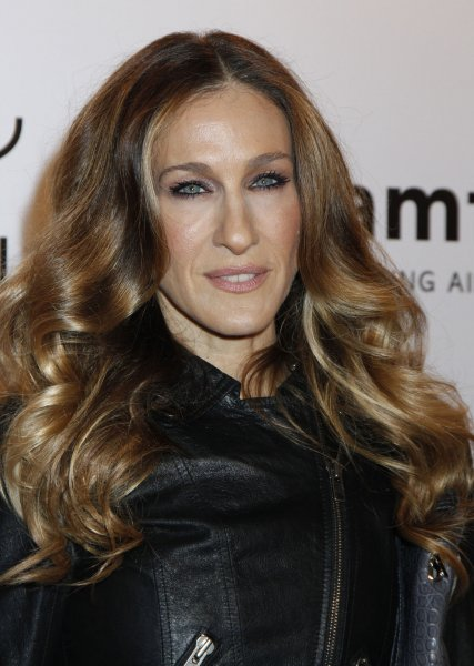 Sarah Jessica Parker arrives for the amfAR's annual Fashion Week New York Gala at Cipriani Wall Street in New York on February 8, 2012. UPI /Laura Cavanaugh